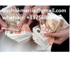 I offer loan buchokmariia@gmail.com